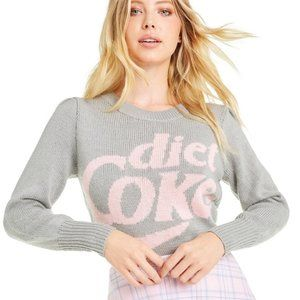 "Wildfox NWT ""Diet Coke"" Lou Sweater M"